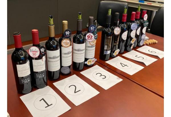 在某跨國銀行舉辦Wine Tasting 活動