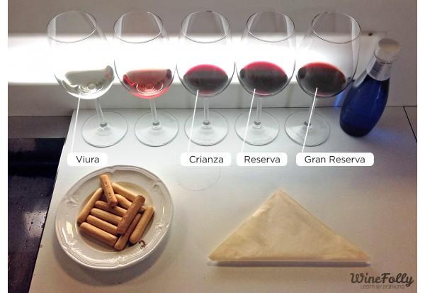 西班牙里奧哈區(Rioja)的葡萄紅酒鑑定系統